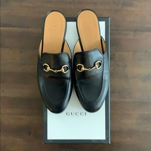 Gucci Princeton Loafers - Black - Size 37 (US 7)